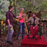 Sonja und Daniel freuen sich auch, dass ein solch unschuldiges Wesen zum Dschungelkönig geworden ist.