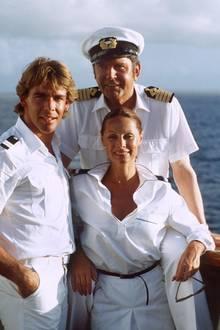 """Im Herbst 1981 wurde die erste Folge des """"Traumschiffs"""" im ZDF ausgestrahlt. Damals bestand die Crew noch aus Sascha Hehn als Stewart Victor, Heide Keller als Hostess Beatrice. Gesteuert wurde das Passagierschiff von Günter König als Kapitän Braake"""