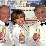Die Crew ist aus der Serie nicht wegzudenken: Siegfried Rauch als Kapitän Jakob Paulsen mit seinen Kollegen Horst Naumann und Heide Keller
