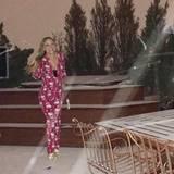 Mariah Carey wartet noch auf das große Schneechaos auf der Terrasse ihres Hauses.