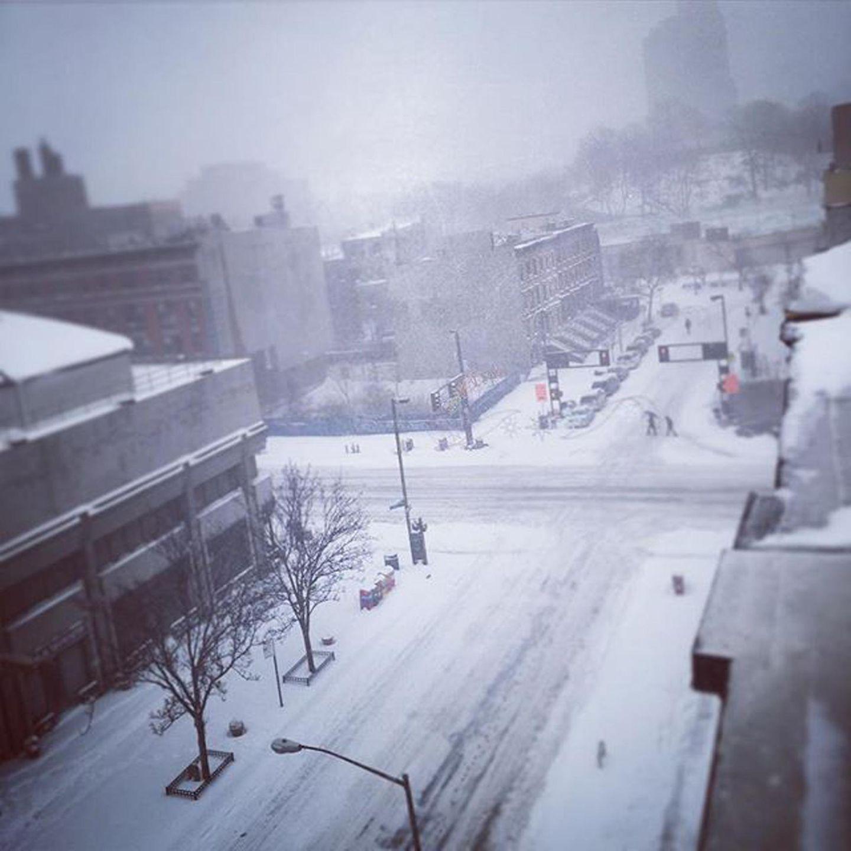 Vor Neil Patrick Harris' Wohnung im New Yorker Stadtteil Harlem sieht es so aus.