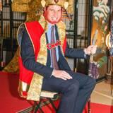 Prinz William bleibt dem englischen Königshaus zwar treu, schlüpft 2015 aber dennoch einmal in das Kostüm eines japanischen Samurai-Königs.
