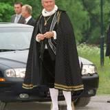 Zu diesem Anlass hat sich auch Prinz Henrik von Dänemark ganz besonders in Schale geworfen und folgt im geschichtlichen Gewand dem Vorbild der Gastgeber.