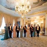 23. Juni 2016: Die luxemburgische Königsfamilie feiert ihren Nationalfeiertag mit einem großen Empfang im Schloss.