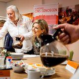 """30. März 2016: Königin Maxima besucht das Dorfhaus """"Ons Genoegen"""" (Unser Vergnügen) im niederländischen Nieuwer Ter Aa."""
