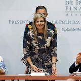 21. Juni 2016: Königin Máxima wird im International Forum of Financial Inclusion in Mexico City empfangen.