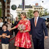 """4. Juni 2016: Königin Maxima und König Willem-Alexander sind bei der Eröffnung des """"69. Holland Festival"""" im Stadsschouwburg dabei."""