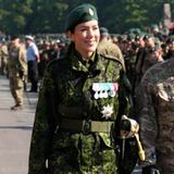 4. Juni 2016  Prinzessin Mary nimmt an einer Landübung der dänischen Heimwehr in der Ryes Kaserne in Fredericia teil.