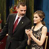 21. Oktober 2016: König Felipe und Königin Letizia leiten die Verleihung der Prinzessin von Asturien-Preise 2016 im Theater Campoamor Oviedo in Spanien. Es sind einer der wichtigsten spanischen Auszeichnungen.