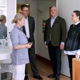 Prinzessin Sofia besuchte vor ihrer Babypause das größte schwedische Privatkrankenhaus Sophiahemmet, dessen Schirmherrin sie seit Anfang des Jahres ist