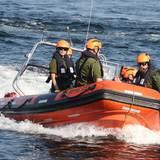 4. Juni 2016  Nach der Begrüßung geht es auf das Segelschiff Holger Danske.