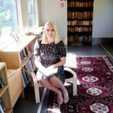 3. Juni 2016: Prinzessin Mette-Marit reist mit dem Literaturzug durch ihr Land. Am dritten Tag besucht sie die Bibliothek Hönefoss.
