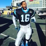 Rapper Ludacris zeigt sich vor dem Spiel noch super cool. Er ist zuversichtlich, dass seine Carolina Panthers gewinnen werden. Da hat er seine Rechnung jedoch ohne die Broncos gemacht.