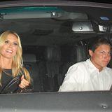 April 2016  Frisch zurück aus dem Karibik-Urlaub zeigen sich Heidi Klum und Vito Schnabel in West Hollywood. Das Paar hat in einem italienischen Retsurant gespeist.