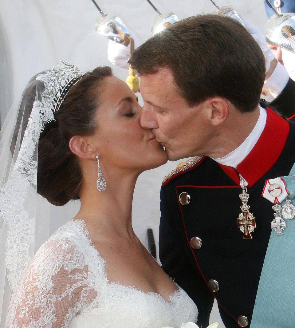 24. Mai 2008  Prinzessin Marie und Prinz Joachim von Dänemark