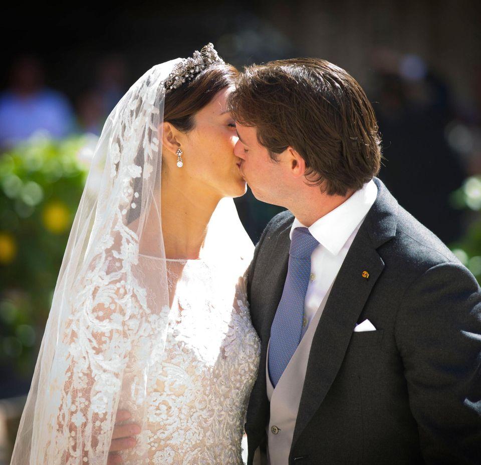 21. September 2013  Prinzessin Claire und Prinz Felix von Luxemburg