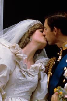 29. Juli 1981  Prinzessin Diana und Prinz Charles