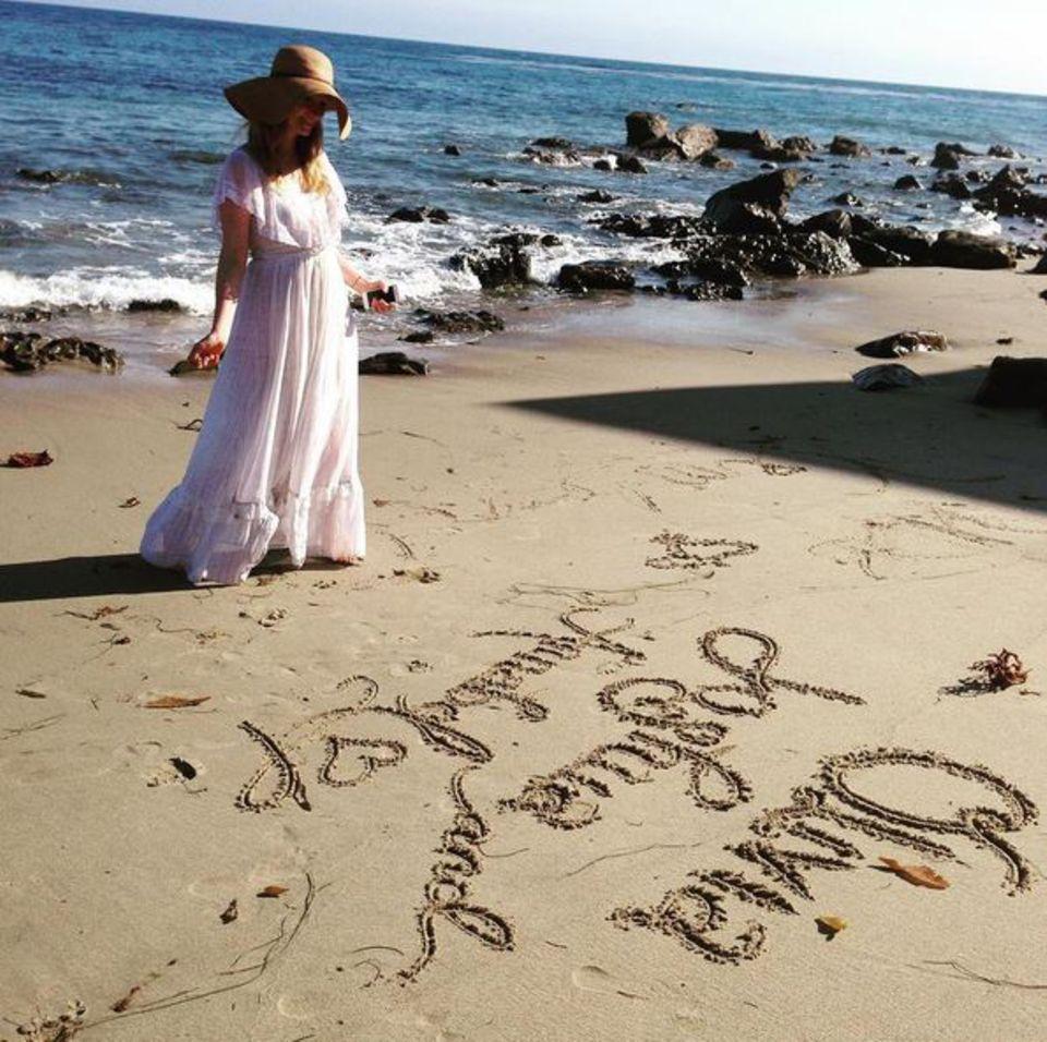 Für James Van Der Beek ist seine Frau Kimberly der größte Schatz.