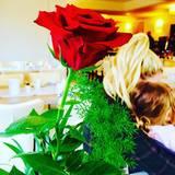 ... Und auch die Fotos verraten, dass sie den Valentinstag gemeinsam mit seiner Tochter Amelia verbringen.