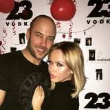 Kim Gloss zeigt sich mit ihrem neuen Partner Alexander.