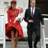 Huch, bei einem Besuch in Neuseeland zeigt Herzogin Catherine unfreiwillig sehr viel Bein.
