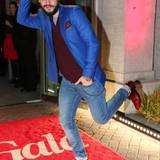 Immer zu Späßen aufgelegt: Schauspieler und Star-Styler Manuel Cortez