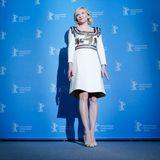 """Auch Schauspielerin Kirsten Dunst ist nach Berlin gereist. Sie stellt dort ihren Film """"Midnight Special'"""" vor."""