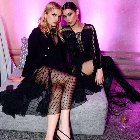 Lily Donaldson und Bella Hadid