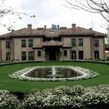 """Dies ist die Residenz der spanischen Königsfamilie. Der """"Pavillon des Prinzen"""" liegt auf dem Gelände des Zarzuela-Palasts in Madrid."""