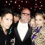 Party Time! Naomi Campbell hat sichtlich Spaß mit Eric Buterbaugh und Nicole Richie.