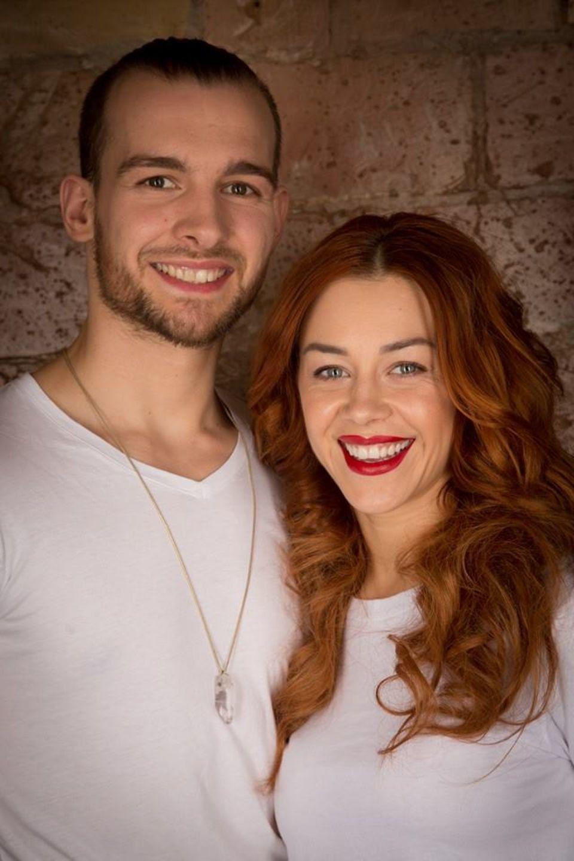 Eric Stehfest und Oana Nechiti wirken ganz selbsstbewusst und siegessicher für die nächste Tanzshow.