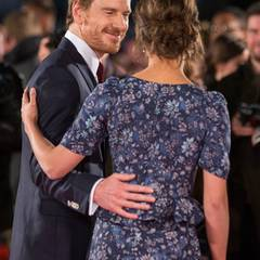 Michael Fassbender und Alicia Fassbender