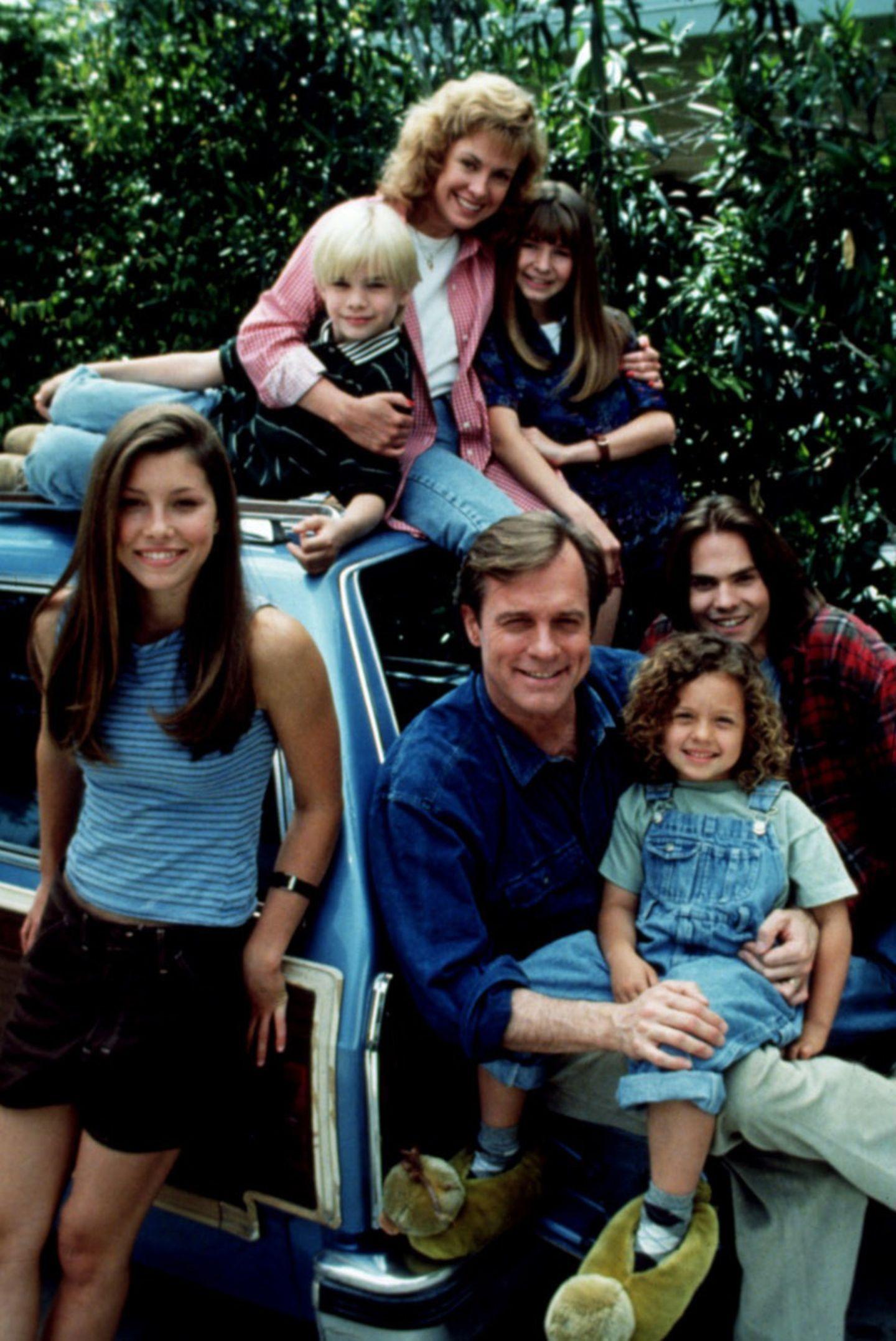Eine himmlische Familie  Die US-amerikanische Serie um die Familie Camden flimmert von 1996 bis 2007 über die Bildschirme.