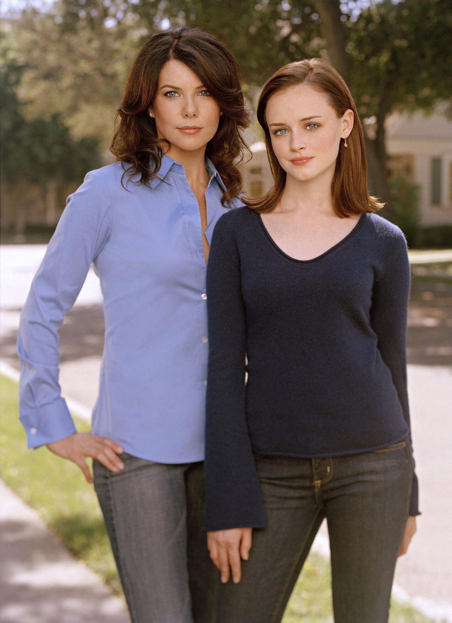 Gilmore Girls  Die Serien um das Mutter-Tochter-Gespann Lorelai (Lauren Graham) und Rory Gilmore (Alexis Bledel) wird von 2000 bis 2007 ausgestrahlt.