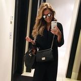 sylvie meis mit chanel boy bag