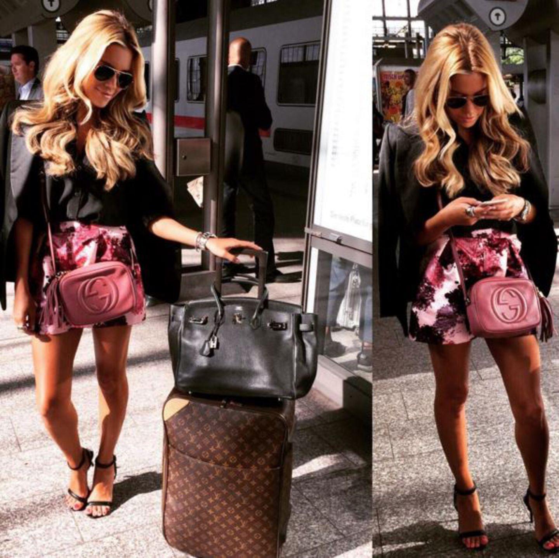 Gucci, Hermès oder doch lieber Louis Vuitton? Sylvie hat sie alle!