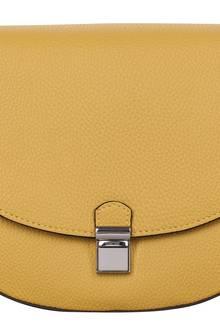 Honiggelb mit Klippverschluss in Silber. Von S.Oliver Accessories, ca. 45 Euro