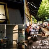 """Bar Raval  Weil der Schauspieler Daniel Brühl angeblich in ganz Berlin keine guten Tortilla bekam, eröffnete der Halbspanier 2011 kurzerhand selbst eine Tapas-Bar im schönen Kreuzberg. 2014 folgte das passende Rezeptbuch """"Tapas"""" der kulinarischen Spezialitäten."""
