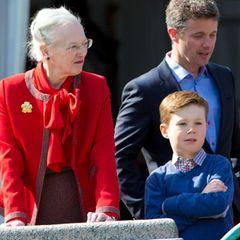 Prinz Christian, Prinz Frederik, Königin Margrethe