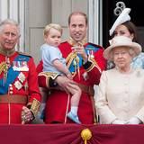 Prinz Charles, Prinz George, Prinz William, Königin Elizabeth