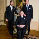 Erbgroßherzog Guillaume, Großherzog Jean, Großherzog Henri