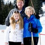 Prinzessin Amalia, König Willem-Alexander, Prinzessin Beatrix