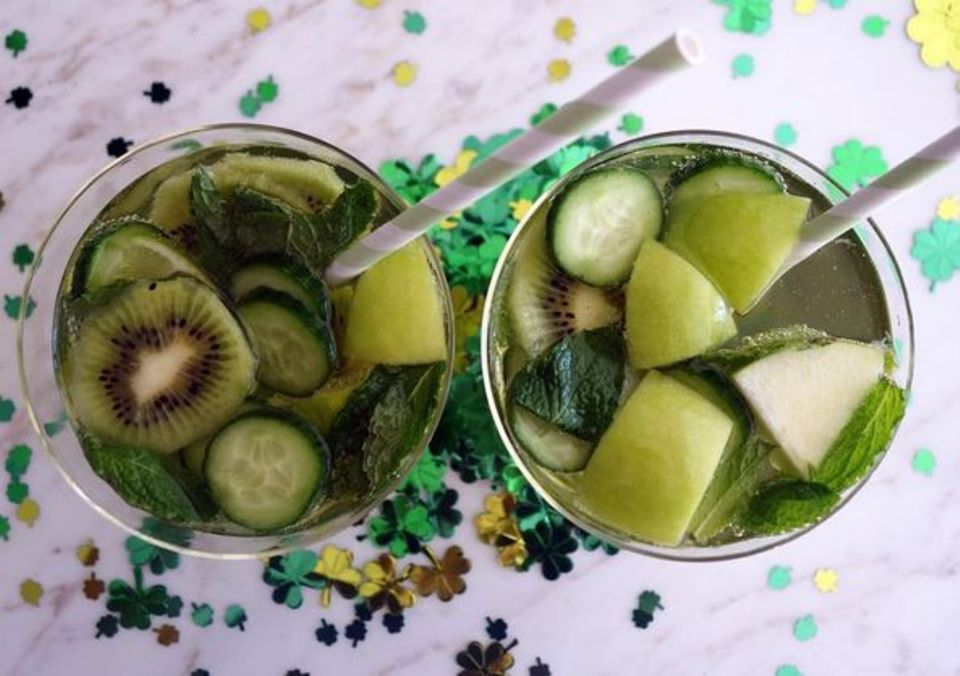 st. patrick's day, grün, feiertag, feierlichkeiten, so feiern die stars, molly sims