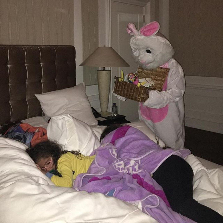 Von diesem Bild bekommen Mariah Careys Kinder wohl eher Albträume als Osterlaune.