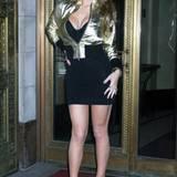 Oh, Mariah! Ghetto und Disco ergeben diesen Panne-Look.