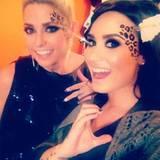 Cat-Content zieht auf instagram immer: Das dachte sich auch Demi Lovato, die hier ihre Krallen ausfährt.