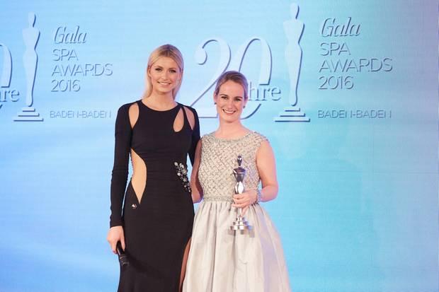 GALA Spa Awards 2016: Model Lena Gercke überreichte den Preis in der Kategorie