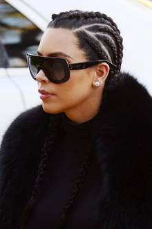 kim kardashian mit boxer braids
