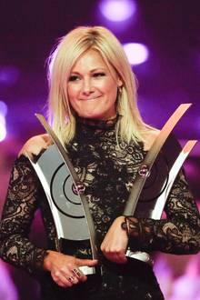 Sie ist die Gewinnerin des Abends: Die beliebte Schlagersängerin Helene Fischer räumt insgesamt vier Preise ab.