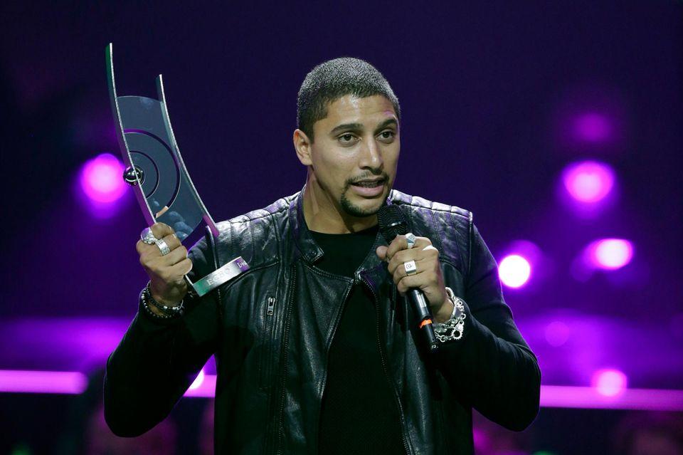 Andreas Bourani kann in der Kategorie Künstler Rock/Pop National überzeugen.